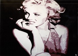 "Pop art "" Marilyn Moroé """
