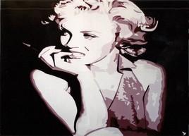 "Pop art "" Marilyn Moroé """