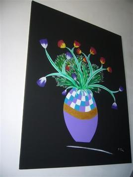 """""""vase de tulipes"""""""