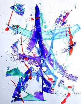 Peinture Abstrait 8