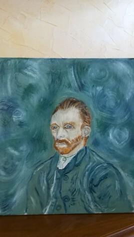 Portrait de Van Gogh!
