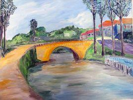 Le canal du Midi à Paraza