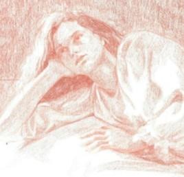 Camille( détail du dessin ).
