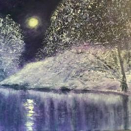 Douce nuit sur le lac