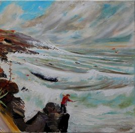 Peinture Coup de vent