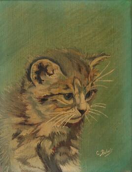 Le chaton du peintre Claude Dubois