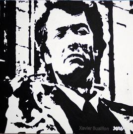 Inspecteur Harry, Clint Eastwood par Xavier Buaillon
