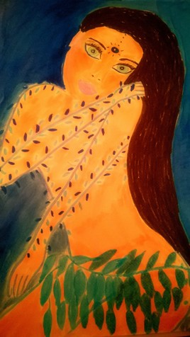 Lilas (aquarelle)