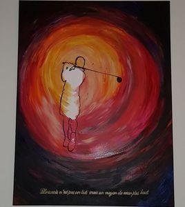Le golfeur visionnaire