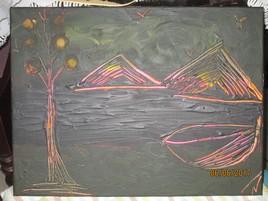 Paysage futuriste.....j'aime l'idée d'un monde différent....