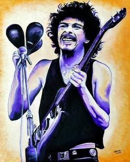 Carlos Santana à Woodstock
