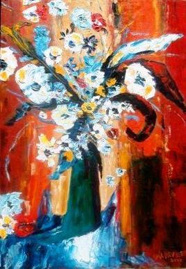 Fleurs emprisonnées