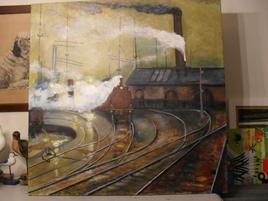 La gare de Cardiff au pays de Galles