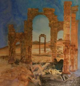 Palmyre, c'est aussi al-Lât sur l'art d'un baiser