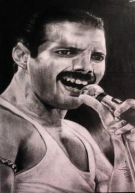 Portrait de Fredy Mercury