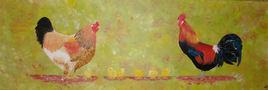 La famille gallinacée