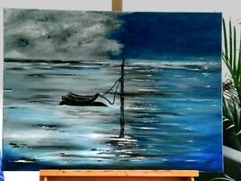 Bleue su mer