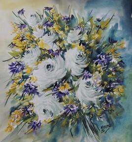 Aquarelle bouquet 2