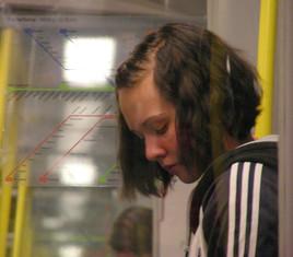 inconnue, métro, Stockholm