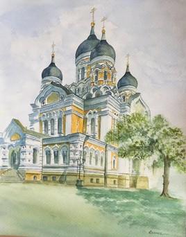 Tallinn, cathédrale ST Alexandre