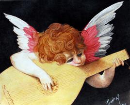 Ange au Luth