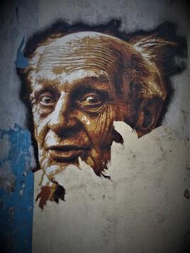 visage de rue