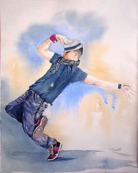 Danseur hip hop