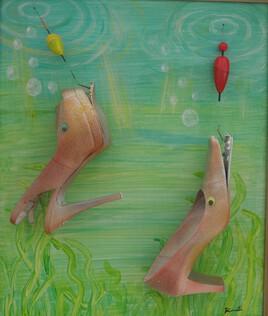 Pêche aux talons