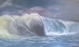 grondement vague mer  ocean
