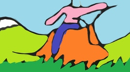 Giant slug ride