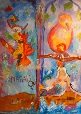 La sirène et les oiseaux