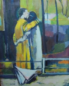 Le baiser aux Tuileries
