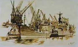 Parking du port de MARSEILLE