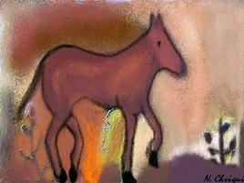 Le petit cheval