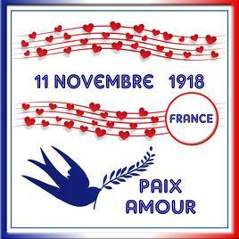 125-HOMMAGE - 11 NOVEMBRE 1918 UN ARMISTICE MET FIN A LA GRANDE GUERRE