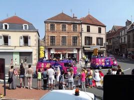 la caravane du tour de France :)