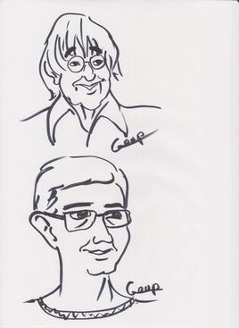 Cabu & Charb