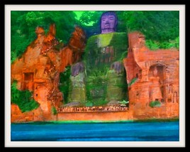 Le Grand Bouddha de Leshan.