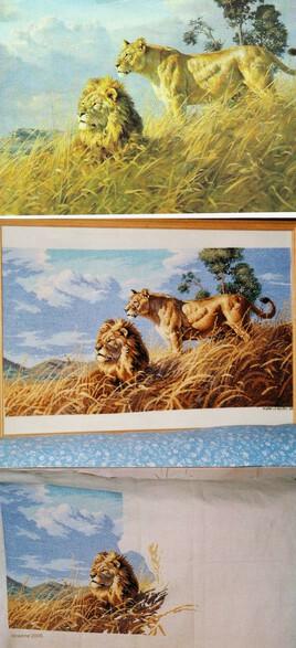 African Lions de Donald Grant..