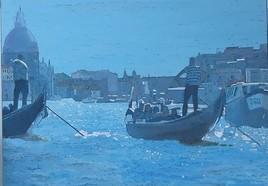 Gondola blue I