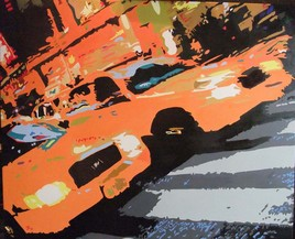 Peinture taxis New York