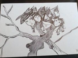 L'arbre aux visages