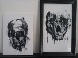 Post-mortem Collection (2 toiles) EFART: Elkechai Fayçal ART