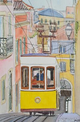 2021-09 Funiculaire da Bica à Lisbonne