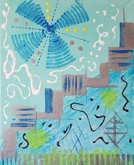 L'hélice bleu