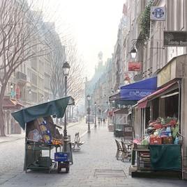 """""""Un marché des 4 saisons rue Montmartre"""""""