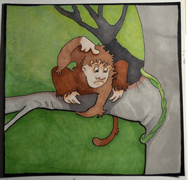dans un arbre