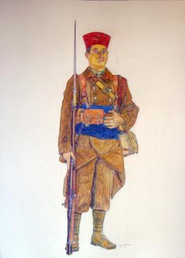 ZOUAVE MAROCAIN 1940