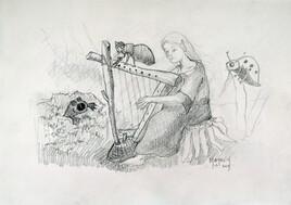 La korrigane harpiste