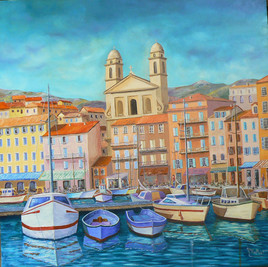 Bastia et son port